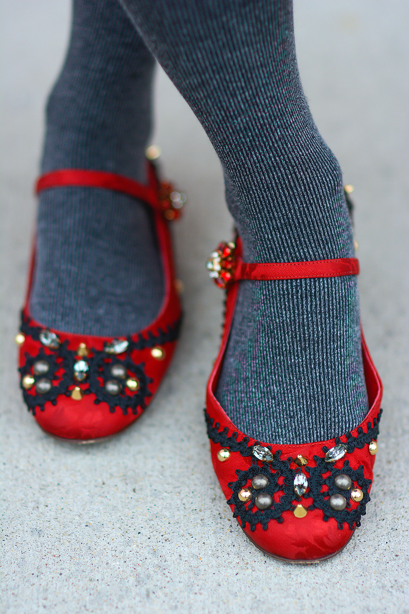 Dolce&Gabbana_Embellished_Flats