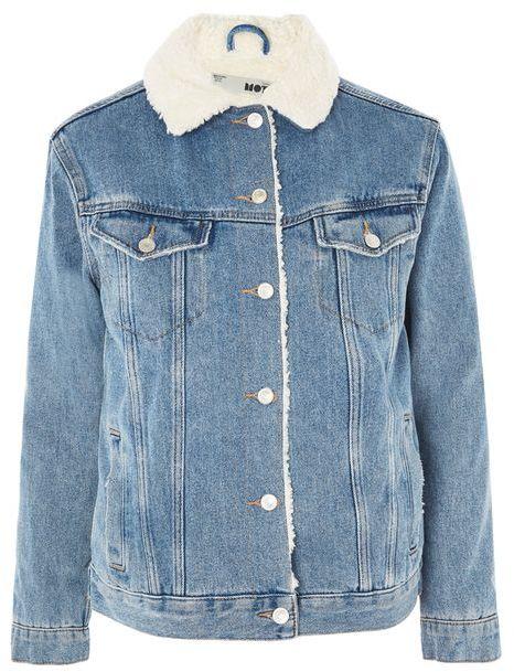 Topshop denim jacket featured on Noir Friday Finds.