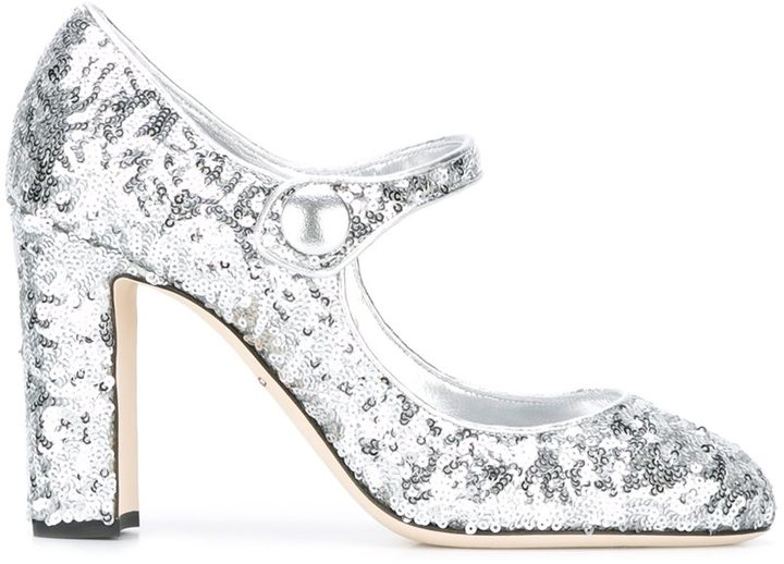 Dolce & Gabbana Vally Mary Jane Pumps featured on Noir Friday Finds.