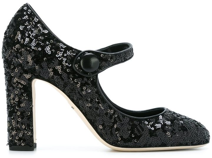 Dolce & Gabbana Vally Pumps featured on Noir Friday Finds.