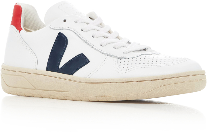 Veja Nautico Leather sneakers  featured on Noir Friday Finds.