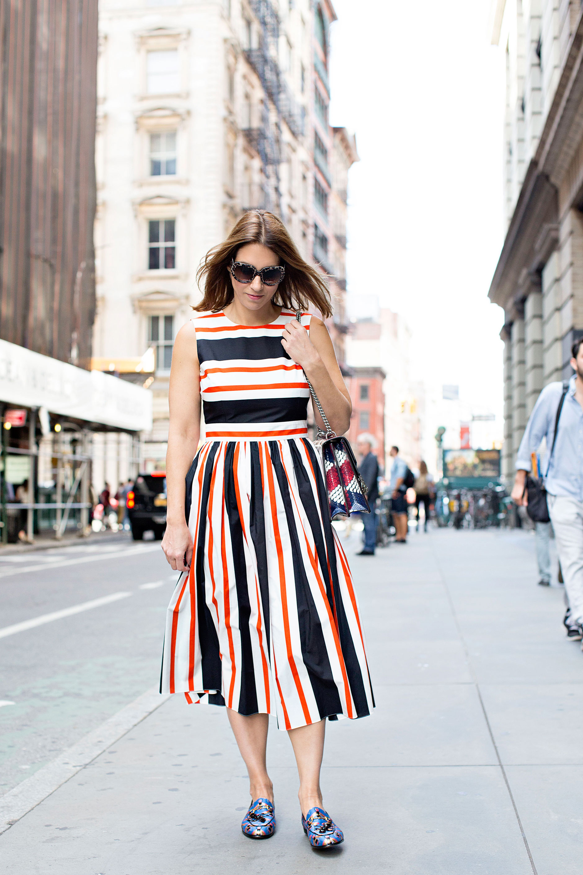 dolce_gabbana_striped_dress