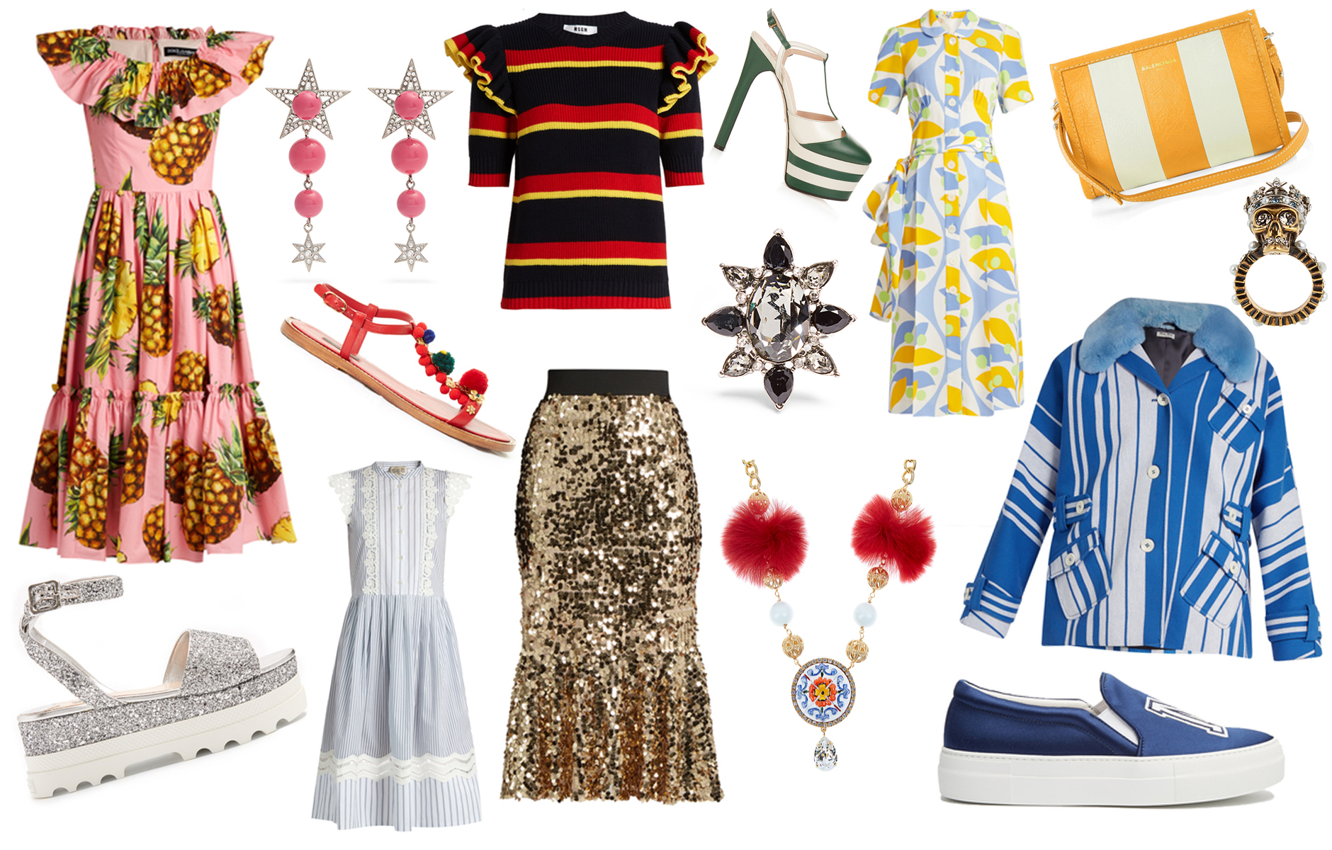 Anna Roufos Sosa of Noir Friday picks the best items from the Matches Fashion Spring Summer sale.
