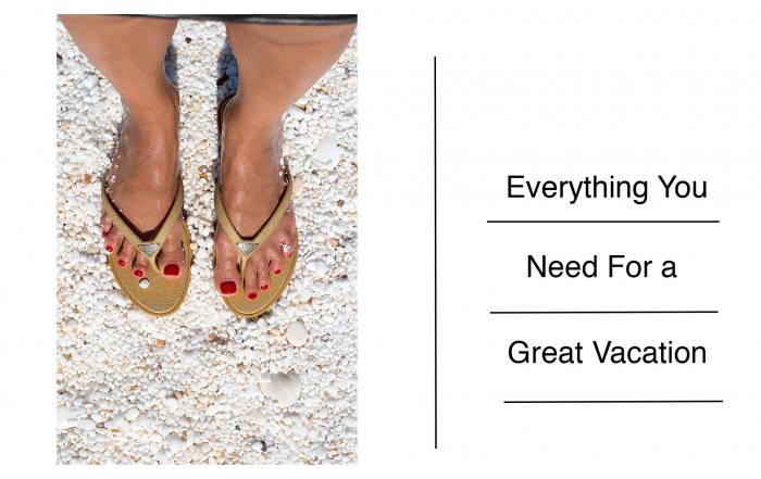 Anna Roufos Soas shares everything you need for a great summer vacation.
