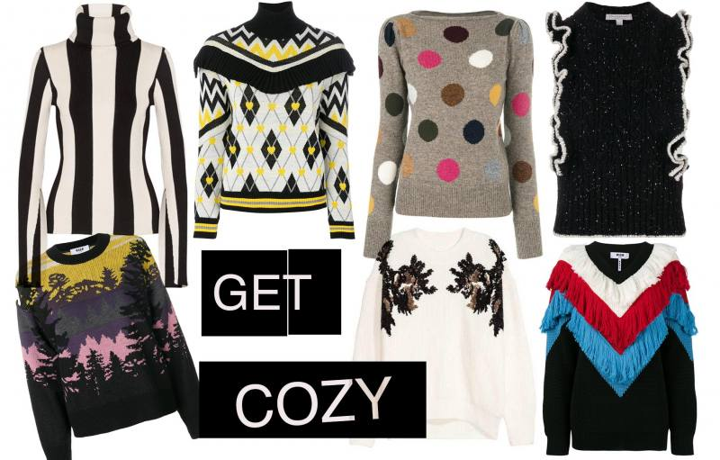 Anna Roufos Sosa of Noir Friday shares her favorite sweaters for the season.