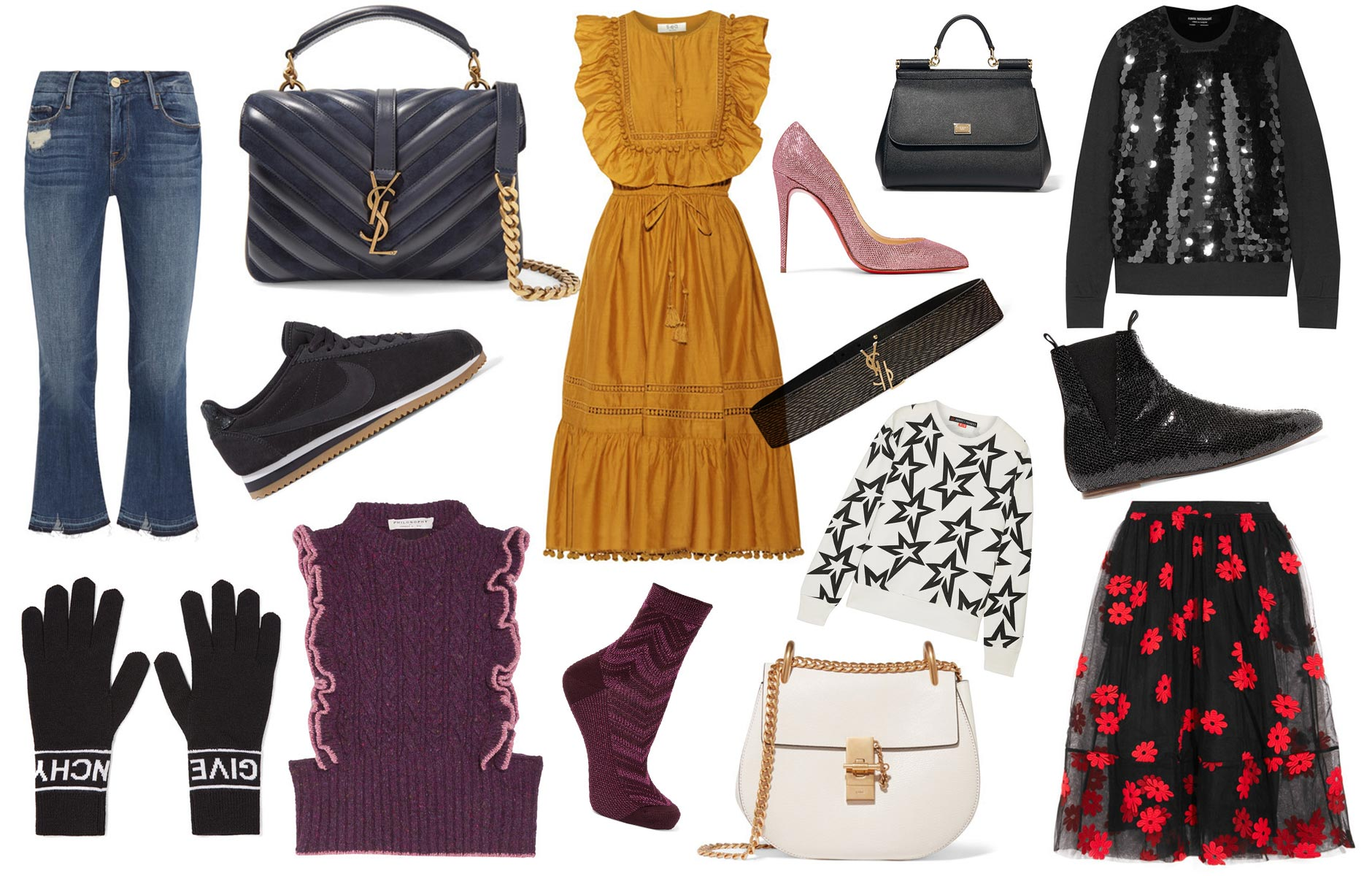 Anna Roufos Sosa of Noir Friday shares her picks from the Net-A-Porter private sale.