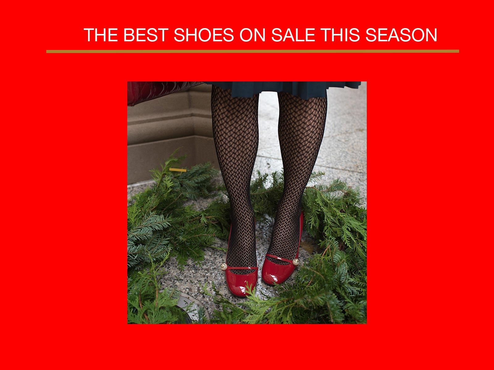 Anna Roufos Sosa of Noir Friday shares the best shoes on sale.