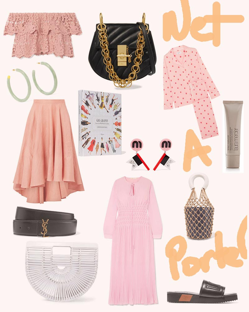 Anna Roufos Sosa of Noir Friday features the best items from the Net-A-Porter private sale.