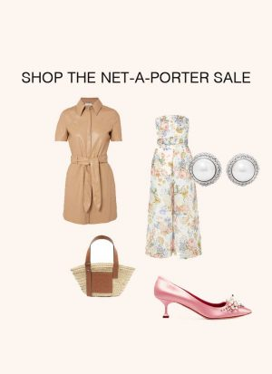 Anna Roufos Sosa of Noir Friday cover what to buy from the Net-A-Porter Spring Summer 19 Sale.